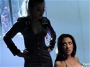 Bad female Capri Cavanni gets punished by Dani Daniels