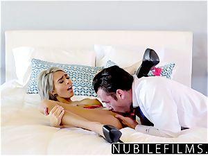 NubileFilms - Janice Griffith naughty teenager seduces Moms boyfriend