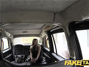 faux taxi rigid fuck-a-thon and butt licking before facial cumshot cumshot