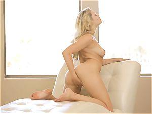 see her strip and make herself spunk