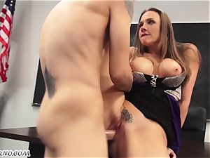 My ultra-kinky bang-out schoolteacher Chanel Preston pummels me in the classroom