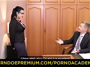 porno ACADEMIE - Romanian warm girl multiracial dp hump