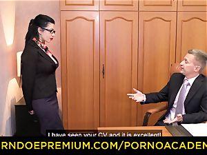 porno ACADEMIE - Romanian warm girl multiracial dp hump