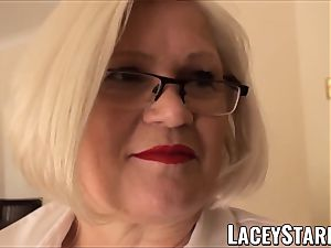 LACEYSTARR - enslaved GILF butt stuffed by Pascal white