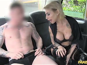 fake taxi puny lady in gorgeous underwear