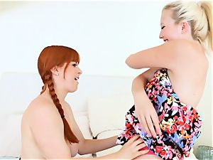crazy threeway joy with Samantha Rone and Penny Pax
