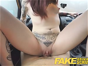 fake Driving school nubile Creampied by UK schoolteacher