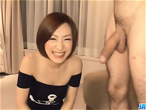 Subtitles - japanese babe Nene Iino fellate shaft