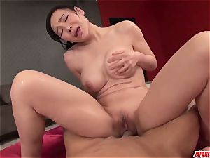 complete japanese gonzo fuck-a-thon with chesty Miu Watanabe