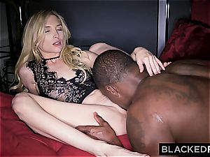puny Piper Perri gets her lil' slit stretched by her gigantic dark-hued affair