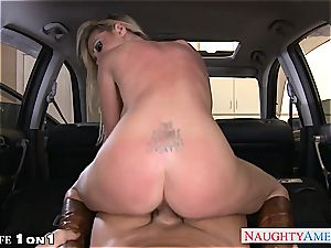 horny Nikki Benz in point of view getting her cougar cunny screwed