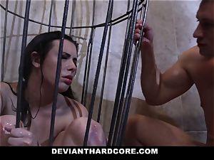 DeviantHardcore - Casey gets a edible fetish bang