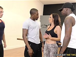 Nikki Benz enjoys ass-fuck with big black cock - hotwife Sessions