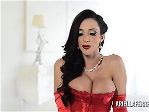 torrid giant hooter Ariella Ferrera Interview