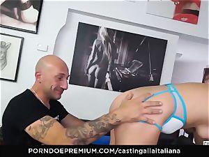 audition ALLA ITALIANA - beginner buttfuck gape and poke