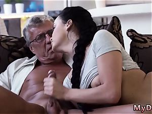 elder fat unshaved and she calls me daddy compilation What would you choose - computer or your