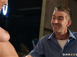 Lily Labeau takes on the monster pecker of porn set PA
