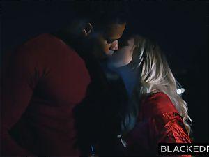 BLACKEDRAW boyfriend with hotwife dream shares his platinum-blonde gf