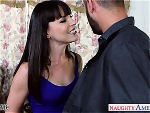 dark-haired wifey Dana DeArmond take manhood