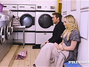 Private.com - Mia Malkova gets plowed in the laundry