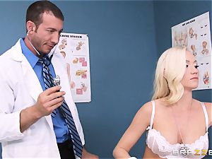 Madison Scott is flawlessly cured by her muddy doctor