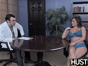 promiscuous cheerleader Leya Falcon demolished by IR rectal