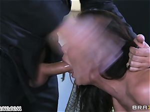 luxurious mature mega-slut Nicole Aniston with hefty bumpers gets buttfucked and splooging