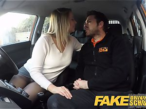 fake Driving college Czech babe Nikky desire ejaculations