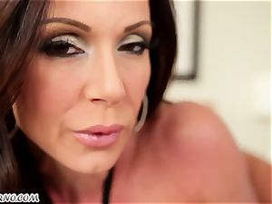 50-year-old porn starlet Kendra enthusiasm with meaty funbags prefers to blow