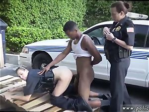 cuckold bi-racial seconds and antique three-way first time I will catch any perp with a
