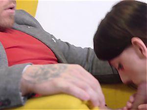 fuck-fest On Yellow Armchair