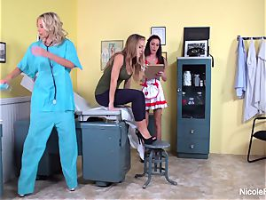 Nicole's lesbo medic Visit