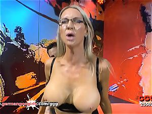 huge-chested Mature Emma Starr spunk greedy in Germany - GGG