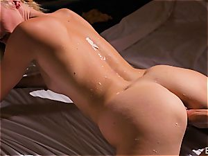 Mona Wales has a romantic love session with her mind-blowing stud