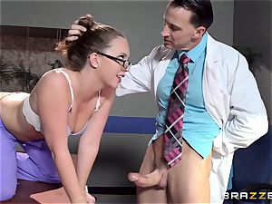 Nurse Maddy OReilly puts things right with a fuckin'