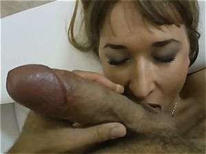 Russian cutie Michelle getting ravaged by Rocco