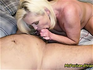 Ms Paris Rose in piss play make-out