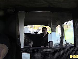 fake taxi guiltless teenage takes immense humungous pink cigar