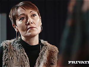 Private.com - Ella Hughes, spunk in Her hairy cooch