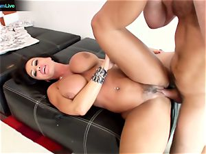 Lisa Ann insane lovemaking with Manuel Ferrara