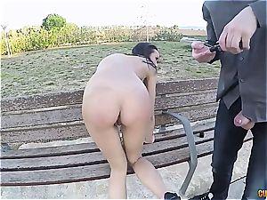 sugary-sweet Latina ass fucking smashed in public