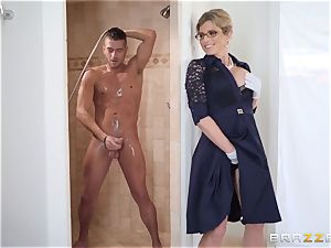 Cory haunt fucked in the shower