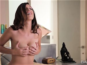 Jade Nile packing her super-hot fuck-hole utter of pinkish toy