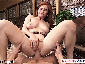 Ginger Penny Pax in point of view getting her muff railed