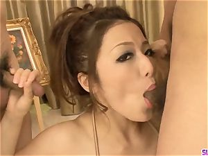 Premium chinese group sex along Meisa Hanai