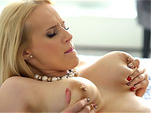 big-titted Angel Wicky