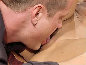 wonderful cougar Kayla Carrera is hungry for new meat