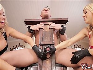 sultry Ms. Alexis Fawx predominates her new enslaved