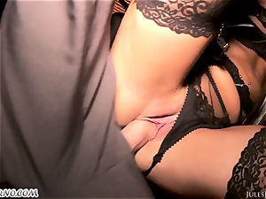 Romi Rain - awesome scorching fledgling pornography in the street