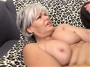 granny Kelly Leigh Is mischievous for a manmeat